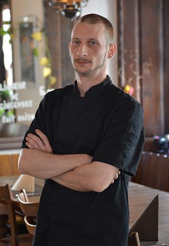 Chef Damien Diard